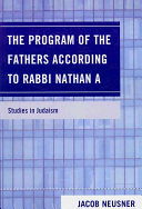 The Program of the Fathers According to Rabbi Nathan A