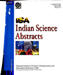 Indian Science Abstracts Book PDF