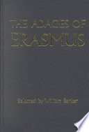 Read Online The Adages of Erasmus For Free
