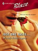 Just One Taste... [Pdf/ePub] eBook