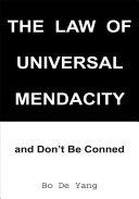 Pdf The Law of Universal Mendacity