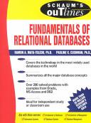 Schaum s Outline of Fundamentals of Relational Databases