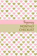 Pregnancy Monthly Checklist Book PDF