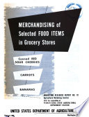 Merchandising of Selected Food Items in Grocery Stores