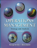 Cover of Operations Management