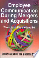Employee Communication During Mergers And Acquisitions Book PDF