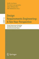 Pdf Design Requirements Engineering: A Ten-Year Perspective Telecharger