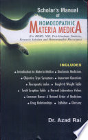 """""""Scholar's Manual of Homoeopathic Materia Medica"""" by Azad Rai"""