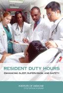 Resident Duty Hours