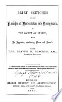 Brief Sketches Of The Parishes Of Booterstown And Donnybrook