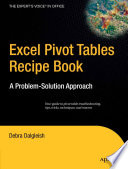 Excel Pivot Tables Recipe Book