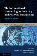 The International Human Rights Judiciary and National Parliaments
