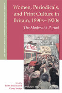 Women Periodicals And Print Culture In Britain 1890s 1920s Book PDF