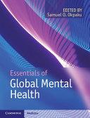 Essentials of Global Mental Health