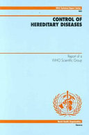 Control of Hereditary Diseases