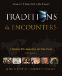 Traditions   Encounters  Volume 2 From 1500 to the Present  Book