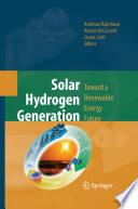 Solar Hydrogen Generation