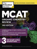 MCAT Organic Chemistry Review  3rd Edition Book