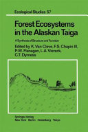 Forest Ecosystems in the Alaskan Taiga