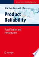 Product Reliability Book PDF