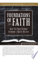 Foundations of Faith Study Guide