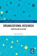 Organizational Research Pdf/ePub eBook