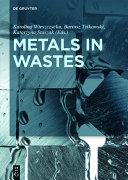 Metals in Wastes Pdf/ePub eBook