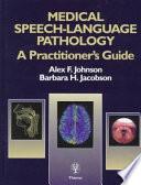 Medical Speech Language Pathology Book PDF