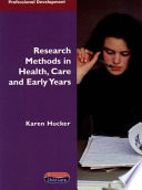 Research Methods In Health Care And Early Years