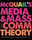 Cover of McQuail's Media and Mass Communication Theory
