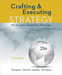 Loose Leaf for Crafting and Executing Strategy  Concepts Book