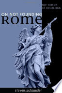 On Not Founding Rome Book PDF