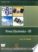 Power Electronics   Iii