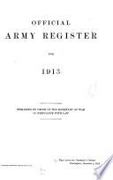 U. S. Army Register