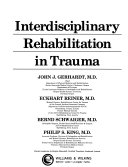 Interdisciplinary Rehabilitation In Trauma Book PDF