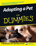 Adopting a Pet For Dummies