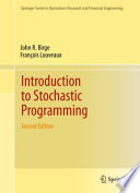 Introduction To Stochastic Programming