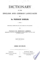 Dictionary of the English and German Languages