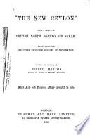 The New Ceylon   Book