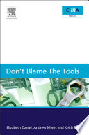 Don t Blame the Tools