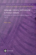 Language, Literacy and Learning in Primary Schools