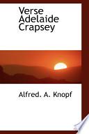 Verse Adelaide Crapsey