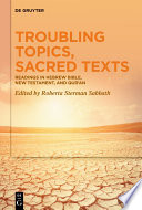 Troubling Topics  Sacred Texts