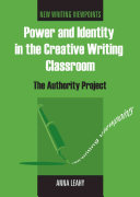 Power and Identity in the Creative Writing Classroom Book