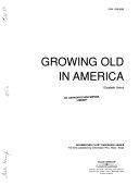 Growing Old in America