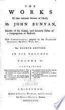 The Works of that Eminent Servant of Christ, Mr. John Bunyan ...