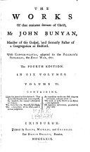 The Works of that Eminent Servant of Christ, Mr. John Bunyan ... ebook