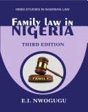 Family Law in Nigeria.