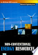 Non Conventional Energy Resources Book PDF