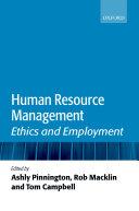 Human Resource Management Book PDF